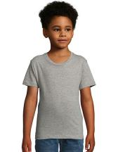 Kids Round Neck Short-Sleeve T-Shirt Milo